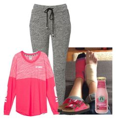 """""""Twisted my foot today..."""" by misscottoncandy ❤ liked on Polyvore featuring mode et Birkenstock"""