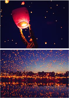 Just like Tangled. I want my future husband to propose to me by a lake with thousands of lanterns around us and when I say yes they can be release but he has to be holding one that says will you marry me and that lantern has to be released first and it has to be by a lake and people need to take pictures ok