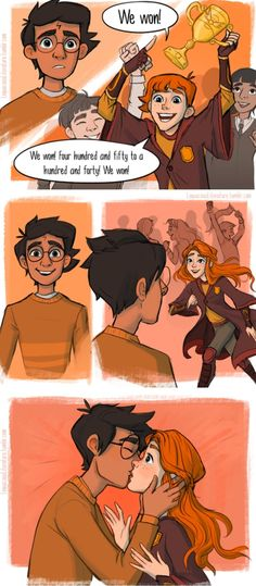 One of the cutest parts of Hbp #harrypotter