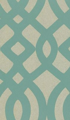 I could see this sample from Pompadour Wallpapers Du Barry From Osborne and Little as an accent wall in my bedroom