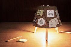 lamparas sobremesa de corcho