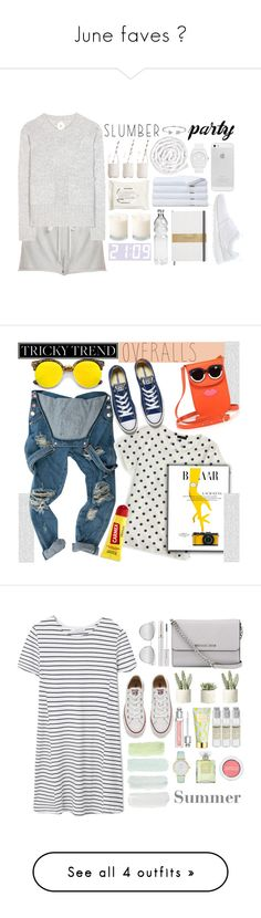 """""""June faves ♡"""" by moniandsara ❤ liked on Polyvore featuring Summer, Clu, Jardin des Orangers, VIPP, H&M, Brooks Brothers, NIKE, adidas Originals, Dress My Cupcake and Bling Jewelry"""