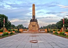 Beach Trip, Beach Vacations, Beach Travel, Philippine Map, Rizal Park, Jose Rizal, Philippines Travel, Pinoy, Manila
