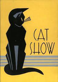 Image result for art nouveau cat