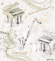 Vektor: Musical background