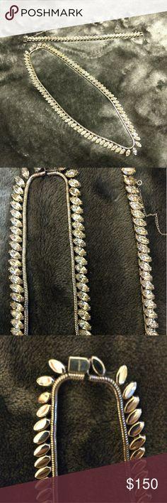 Krementz necklace and bracelet! Vintage silver tone stamped krementz necklace and bracelet set! Gorgeous set krementz Jewelry