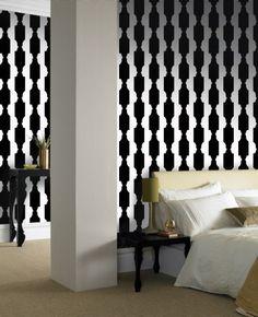 Reflection: Black & White wallpaper