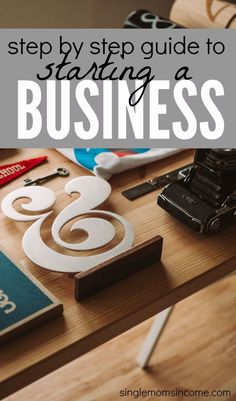 How to Start a Business (Step by Step Guide) - Business Management - Ideas of Business Management - Are you looking to create your own destiny with a small business you really care about? Here's a step by step guide on how to start a business. Start A Business From Home, Business Help, Small Business Marketing, Starting Your Own Business, Craft Business, Business Advice, Home Based Business, Business Planning, Online Business