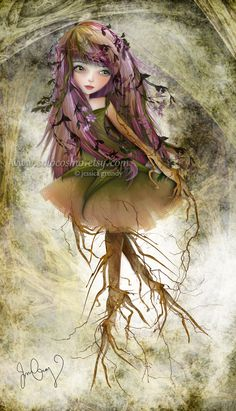 Roots by Jessica Grundy *solocosmo on deviantART