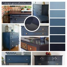 Choose the beach house look for your home accessories with General Finishes Coastal Blue Milk Paint! Coastal Blue is a rich, deep color that reflects the depths of the ocean and represents old style, first period homes. This perfect shade of blue will add a nautical atmosphere to your home decor and pairs beautifully with General Finishes Java Gel Stain! Color Mix Recipes top to bottom: 1 part Coastal Blue + 10 parts Snow White 1 part Coastal Blue + 4 parts Snow White 1 part Coastal Blue…