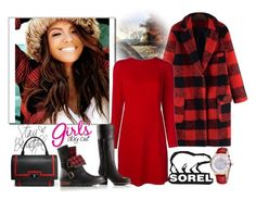 """Kick Up the Leaves (Stylishly) With SOREL: CONTEST ENTRY"" by autumn-soul ❤ liked on Polyvore featuring MM6 Maison Margiela, SOREL, Givenchy and sorelstyle"