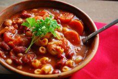 Crock pot pasta fagioli soup (olive garden appetizers pasta e fagioli)