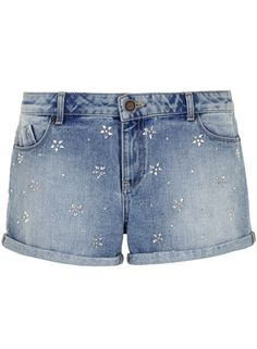 Lola Skye Embellished High Waist Short