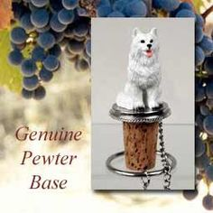 Wine Stoppers - American Eskimo Dog Wine Bottle Stopper  DTB82 * Check out this great product.