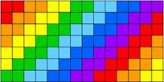 Resultado de imagen para colchas tejidas a colores