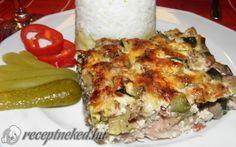 Borított csirkecomb recept fotóval