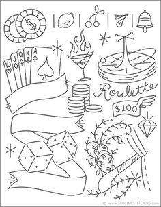 VIVA LAS VEGAS - Embroidery Patterns