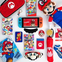 It's March and that means it's Day! Celebrate the day with all of your favorite Mario keepsakes! Nintendo 3ds, Nintendo Console, Nintendo World, Nintendo Eshop, Video Game Crafts, Video Game Memes, Mario Birthday Party, Mario Party, Donkey Kong