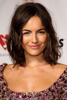 To cut the hair or not to cut the hair. Mmm perhaps not pick Camille as example- too hot!