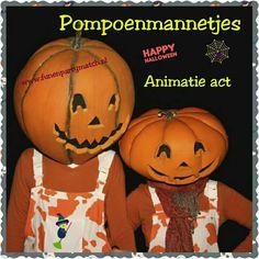 Pompoenmannetjes Animatie act voor #Halloween http://www.funenpartymatch.nl/halloween.php