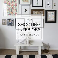 Tips for shooting interiors and printed products from // jones design company . Part of SnapShop Photography: a subscription based photography site. Stencil Diy, Stencil Painting, Painting Plywood, Interior Photography, Photography Tips, Photography Workshops, Phone Photography, Under The Sycamore, Jones Design Company