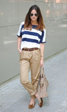 Spring 2012: navy style is on