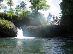 Samoa Paradise waterfall
