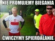 nie promujemy biegania!