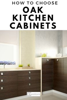 Kitchen Cabinets: Oak Kitchen Cabinets will give you this special warmth