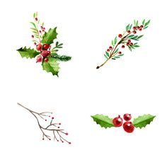 High quality, free cliparts, drawings and coloring pages for teachers, students and everyone Painted Christmas Cards, Watercolor Christmas Cards, Christmas Card Crafts, Christmas Drawing, Christmas Clipart, Watercolor Cards, Christmas Art, Watercolor Projects, Watercolor Flowers