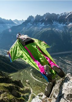 Ellen Brennan is one of the world's top wingsuit fliers.