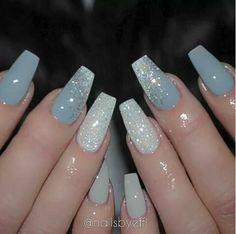 blue and nails image Nail Design, Nail Art, Nail Salon, Irvine, Newport Beach