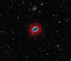 The Ring Nebula in Lyra lies 2.300 light years from Earth. It is estimated to have been expanding for about 1600 years. - Credit: Bob and Janice Fera