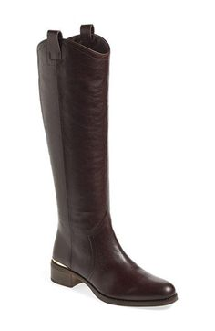 Louise et Cie 'Zada' Knee High Leather Riding Boot (Women) (Wide Calf) (Nordstrom Exclusive) | Nordstrom
