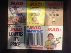 MAD magazines '66, '67, '68, '75, '78  | eBay