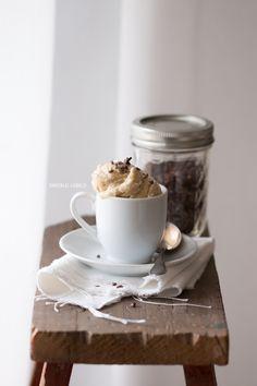 Dreierlei Liebelei: Gesundheitshipsterblogpost: Schnellstes Bananen-Mandel-Eis ohne Eismaschine {Nice Cream}