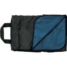 Fleece & Nylon 50x60 Waterproof Picnic Blanket