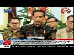 Inilah Pidato Jokowi Umumkan Paket Kebijakan Ekonomi Terkait Dollar Teru...