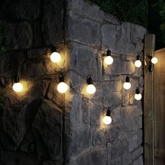 4.5 METRE 10 LED FESTOON BULB OUTDOOR BATTERY STRING FAIRY LIGHTS WITH TIMER