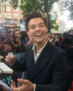 Esa sonrisa es perfecta, al igual que el