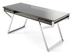 Crystal writing desk with drawers | Gallotti
