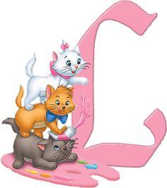 L Aristocats Alphabet (Oh My Alfabetos!)