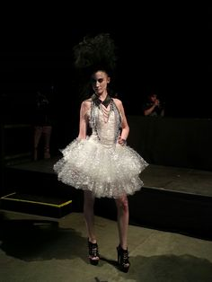 bubble wrap tutu!