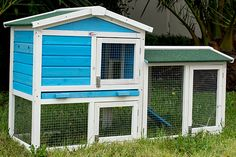Large Double Storey Rabbit Hutch Guinea Pig Cage House 74