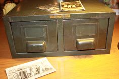 Metal File Drawers For Office Or Industrial Display Box