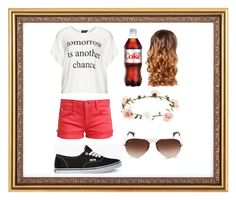 """""""Random"""" by moonjay ❤ liked on Polyvore featuring Replace, Le Temps Des Cerises, Vans, Accessorize, Ray-Ban and Lipsy"""