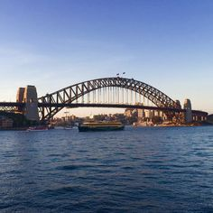 Sydney Harbour Bridge  #sydney #australia #harbour #harbourbridge #sydneyharbour #sydneyharbourbridge #nsw #newsouthwales #aussie #ausfeels #aussiephotos #australia_shotz #bluewater #sky #bluesky #nice #amazing #amazingview #greatday #greattime #greatview #traveller #travel #traveling #ilovesydney #iloveaustria by max.marschlich http://ift.tt/1NRMbNv