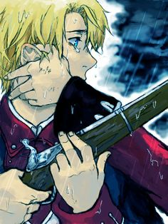by ecca - Hetalia  Poor America! He does not hate England; he just wants freedom and respect...