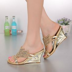 Shoes For Women Leather Stiletto Heel Heels Sandals Party Evening Dress Dress Casual Pink Purple Gold