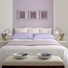 Lilac, purple and lavender are often considered great bedroom colors, especially in the master bedroom, because they are not only soothing and peaceful, they also encourage romance and sensuality - See more at: http://www.free-home-decorating-ideas.com/bedroom-color-schemes.html
